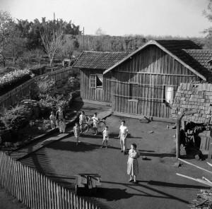 シャカラ・アララの中心地、パラナ州ロンドリーナ、1950年代 ⒸHaruo Ohara/Instituto Moreira Salles Collection