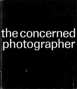 """写真集""""The Concerned Photographer"""" 表紙 (Grossman Publishers, New York, 1968)"""