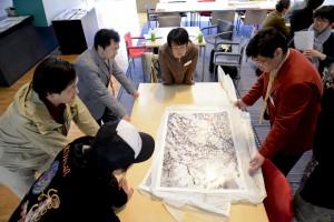 YP2012収蔵以降も氷をテーマに制作を続けている谷田梗歌さん。