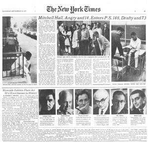 ニューヨークタイムズ 1967年9月30日、35面